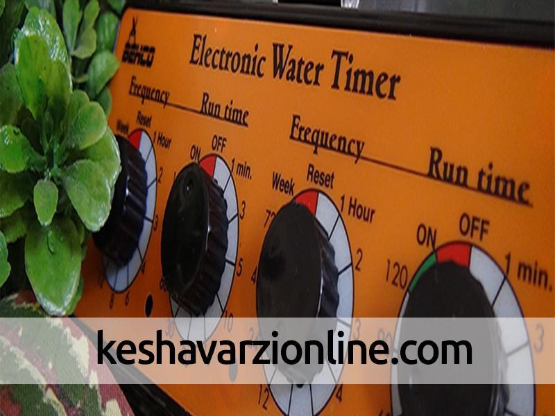 چگونگی تعیین زمان مناسب آبیاری گیاهان