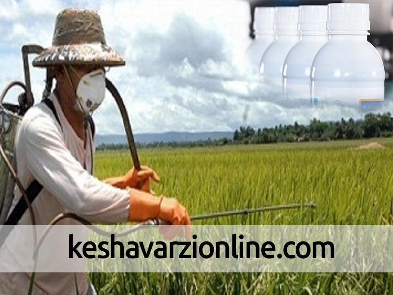 افزایش استفاده از سموم کشاورزی