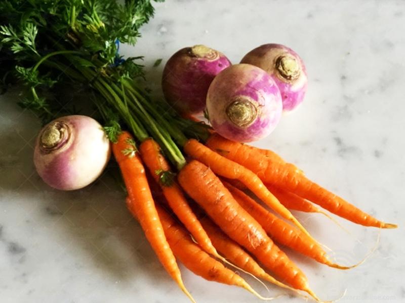 برنامه کامل تغذیه هویج و شلغم