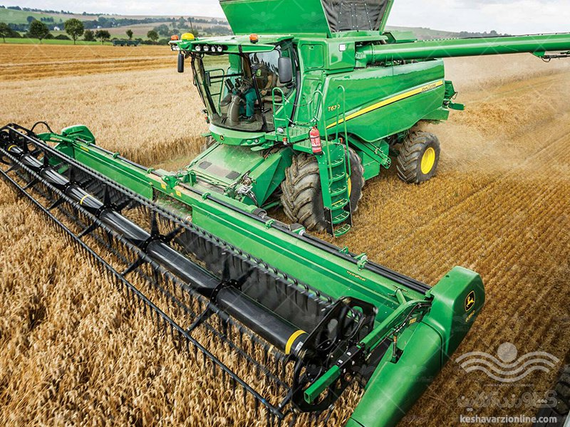 ماشین برداشت محصولات کشاورزی