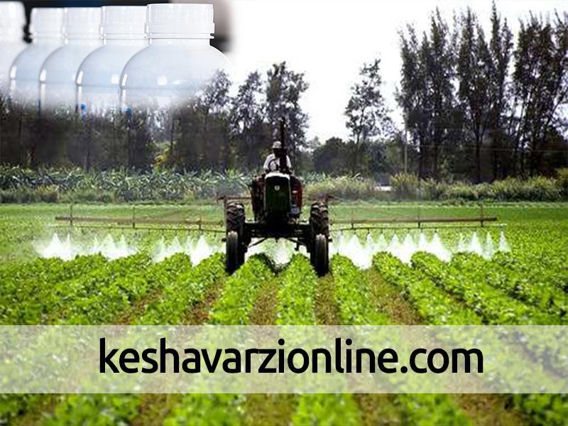 وزارت بهداشت میزان استاندارد سموم محصولات کشاورزی را مشخص کند