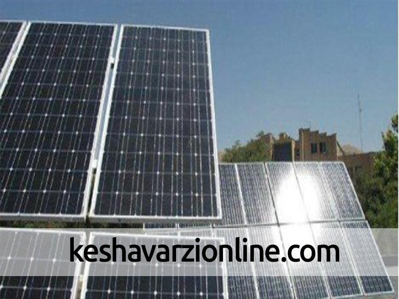 افتتاح نیروگاه خورشیدی خاش
