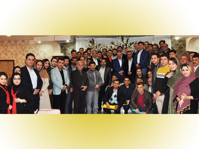 برگزاری پنجمین گردهمایی فروشندگان برتر استان گلستان