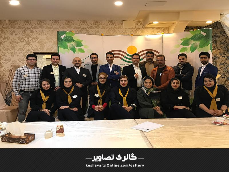 همایش فروشندگان برتر استان گلستان بهمن 96