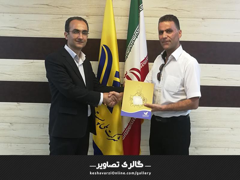 تقدیر نامه از اداره پست استان گلستان