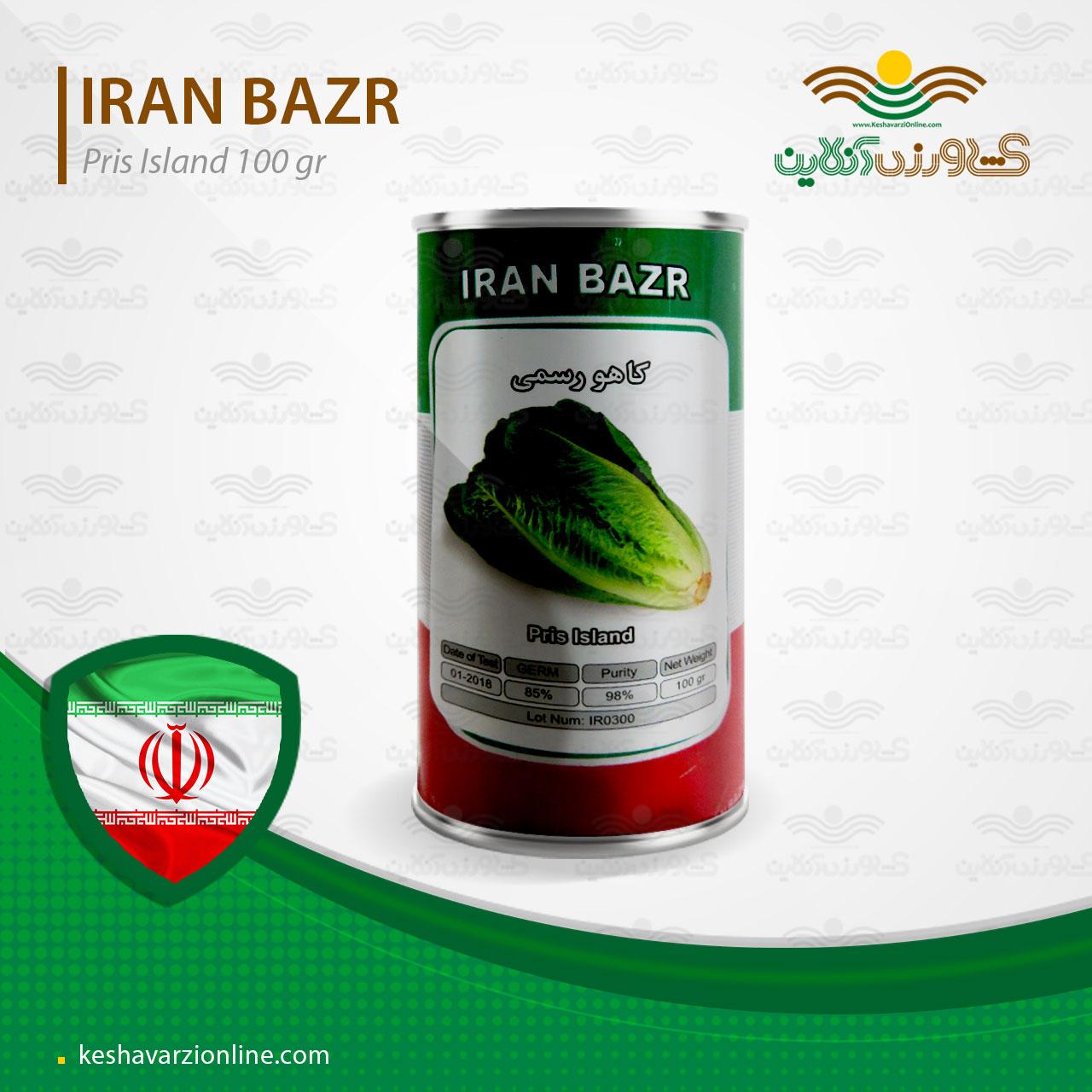 فروش بذر کاهو رسمی ایرانی