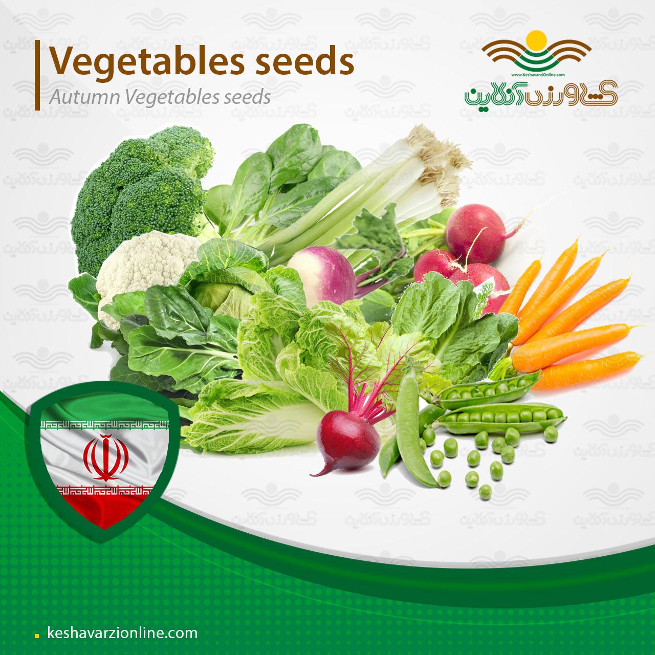 پکیج سبزیجات کشت پاییزه