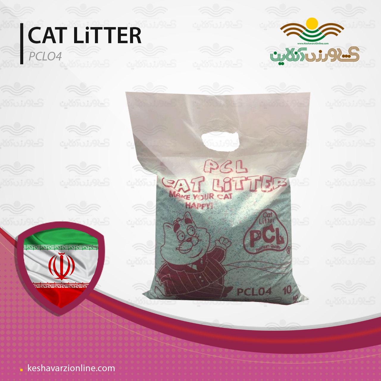 خاک بستر گربه با قدرت جذب آب ۶٠٠