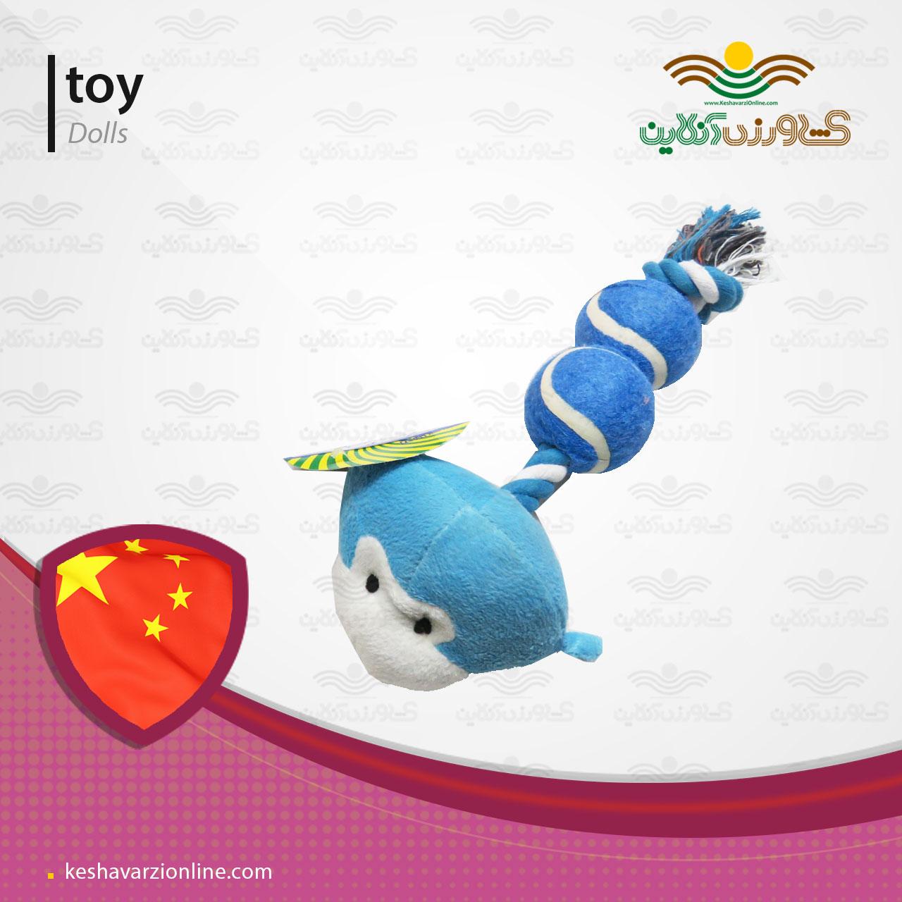 پت شاپ اسباب بازی سگ عروسک میمون توپک دار