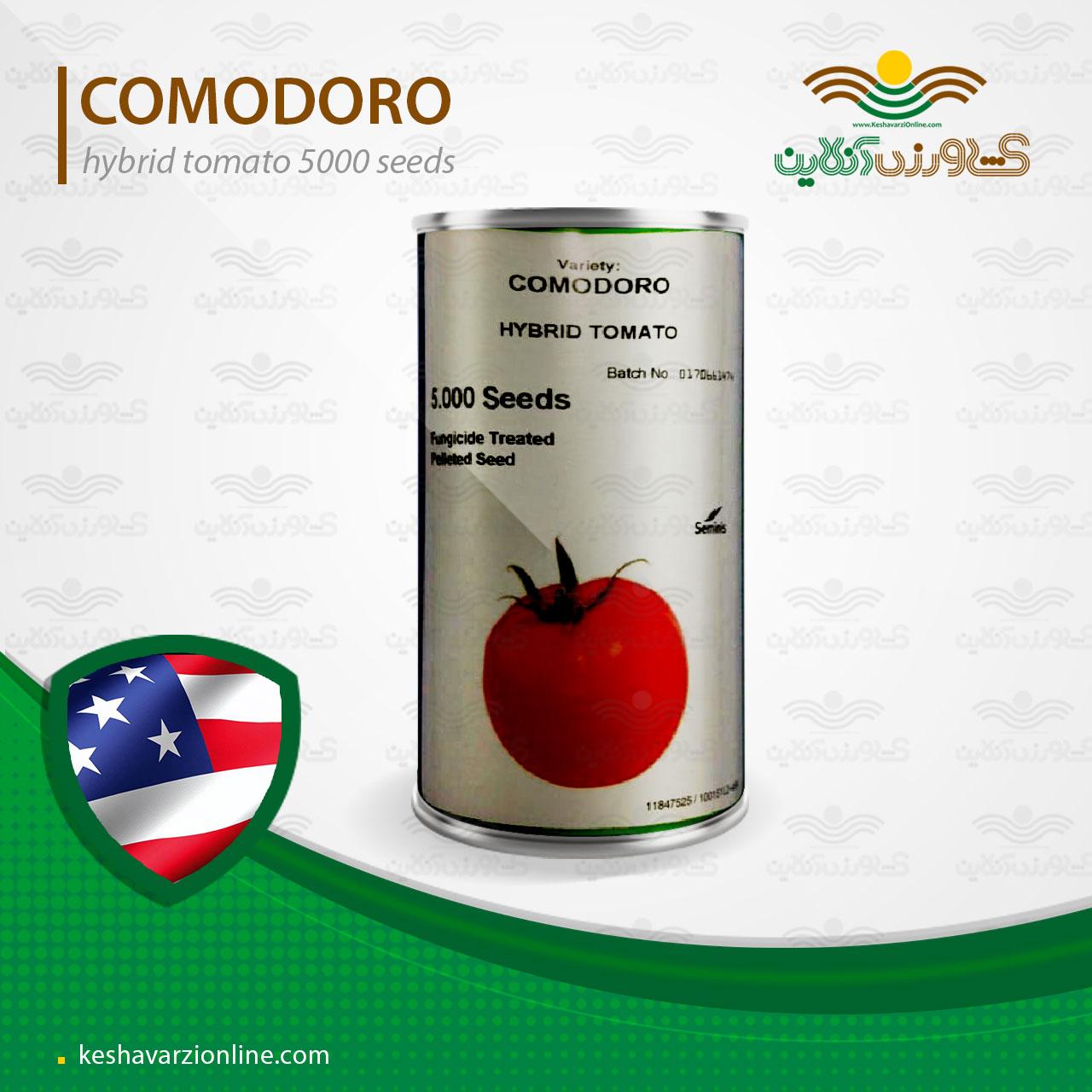 بذر گوجه فرنگی کومودور