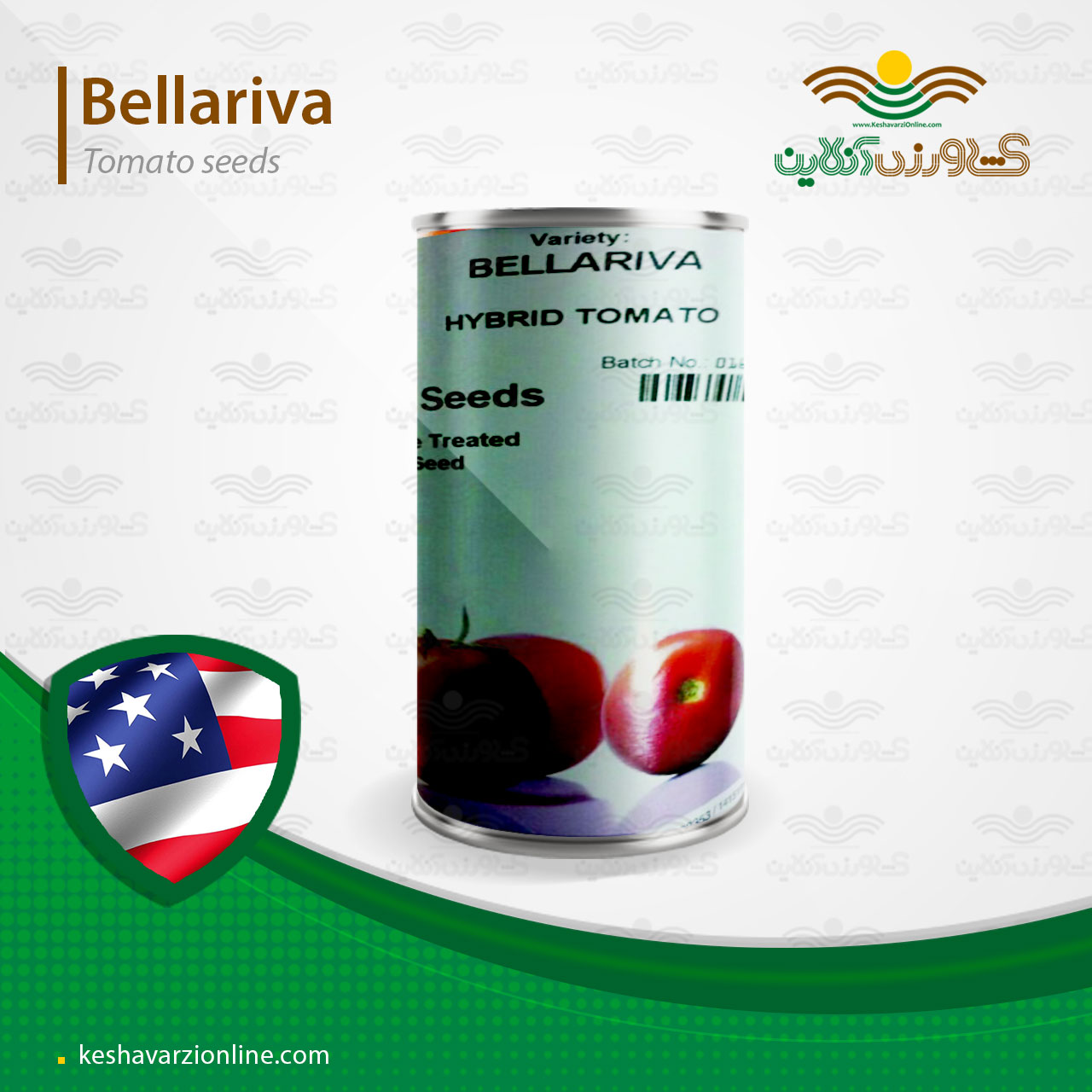 بذر گوجه فرنگی بلاریوا سیمینس آمریکا