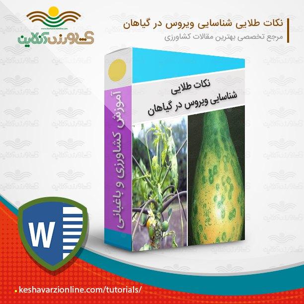 نکات طلایی شناسایی ویروس در گیاهان