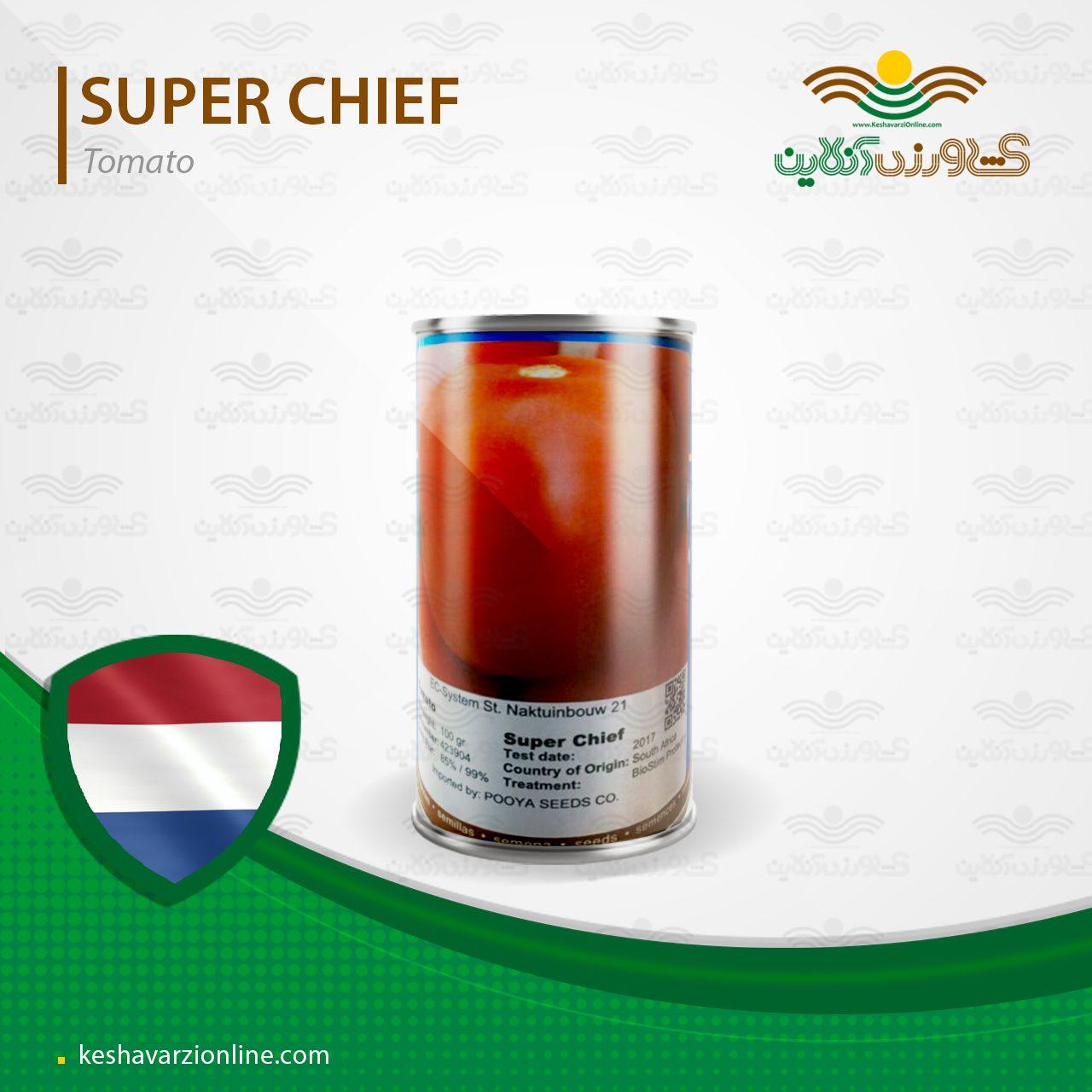 بذر گوجه فرنگی سوپر چف بیکر هلند