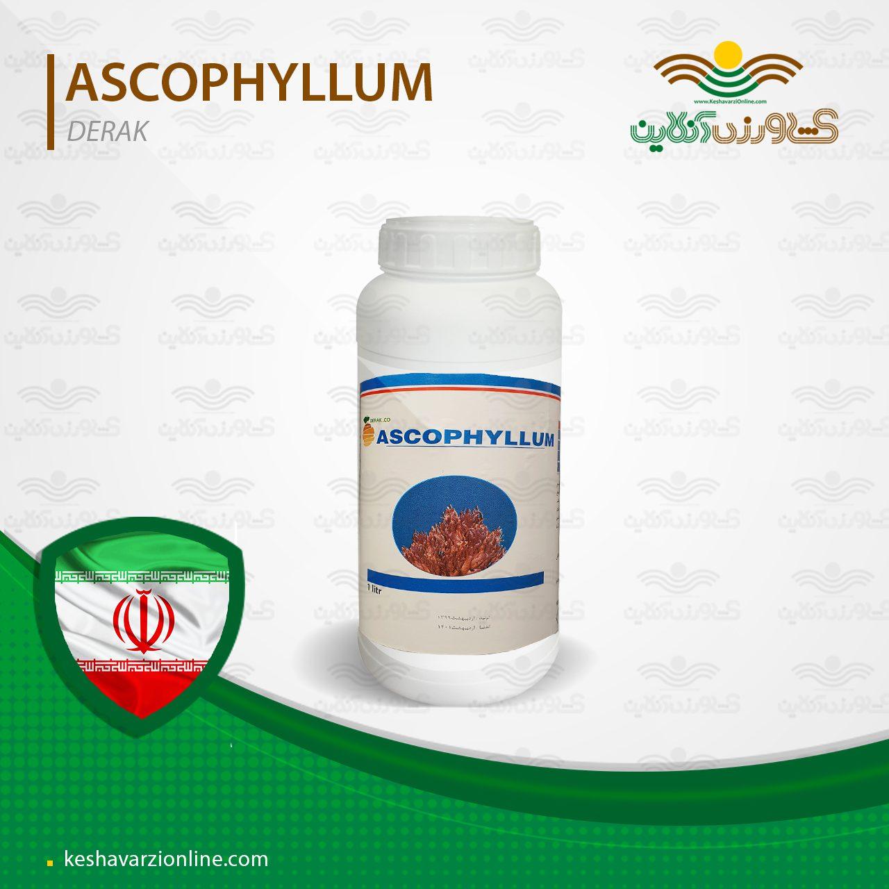 کود جلبک مایع اسکوفیلوم یک لیتری