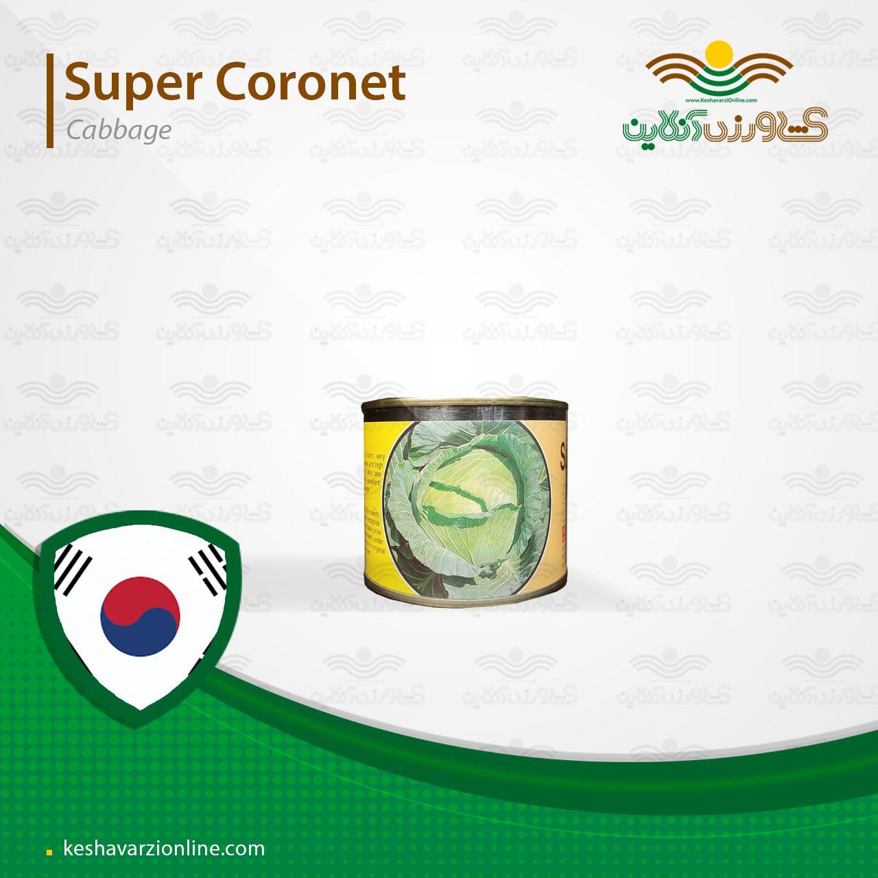 بذر کلم پیچ سوپر کرنت 100 گرمی کره جنوبی