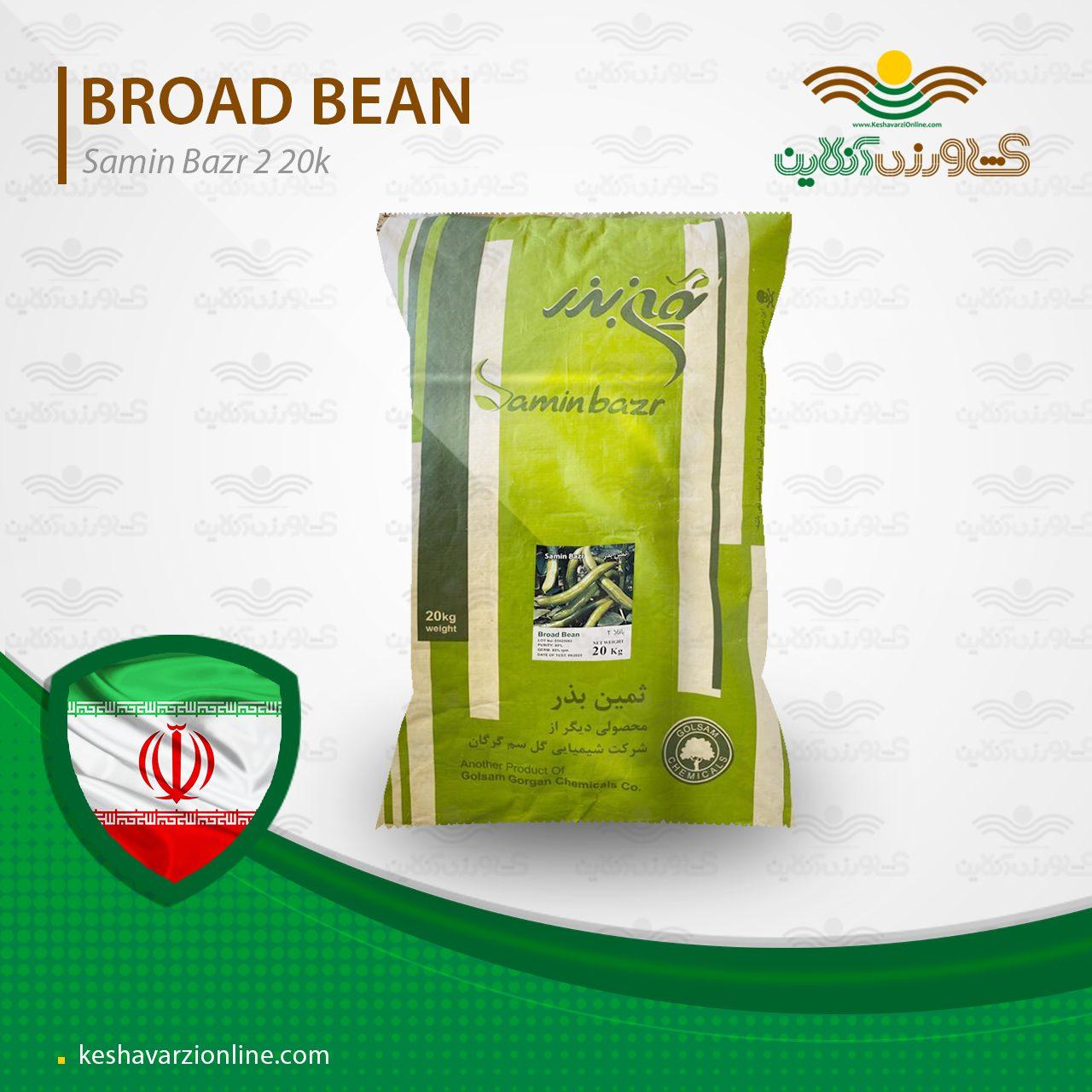 بذر باقلا زودرس ثمین 2 گرفته شده از رقم هیستال