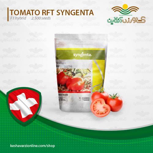 بذر گوجه فرنگی هیبرید فضای باز آر اف تی