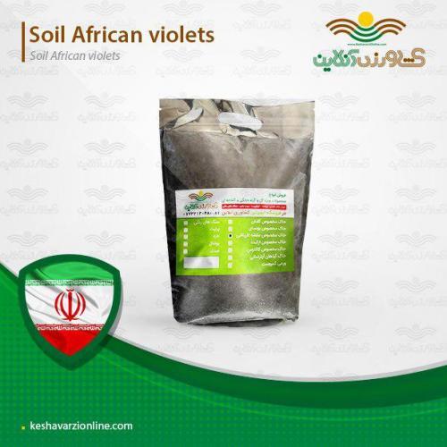 خاک مخصوص بنفشه آفریقایی