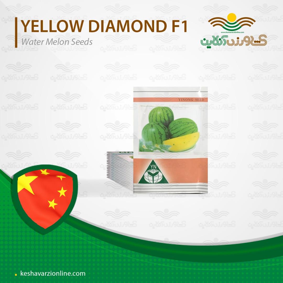 بذر هندوانه زرد یا هندوانه آناناسی و روش کاشت هندوانه زرد