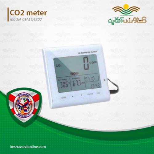دستگاه اندازه گیری دی اکسید کربن CEM DT802