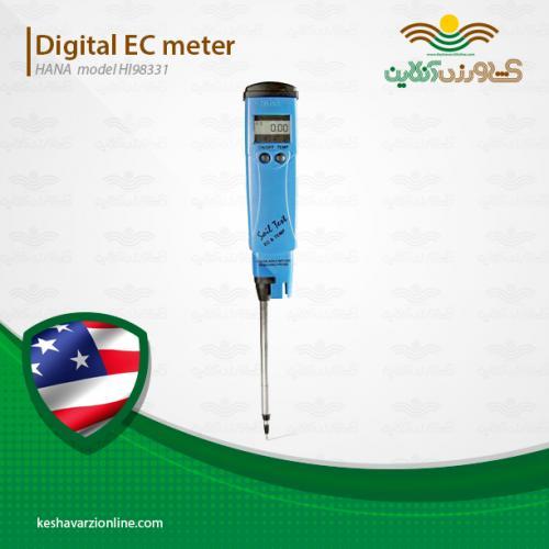 بهترین دستگاه شوری سنج خاک هانا HI98331