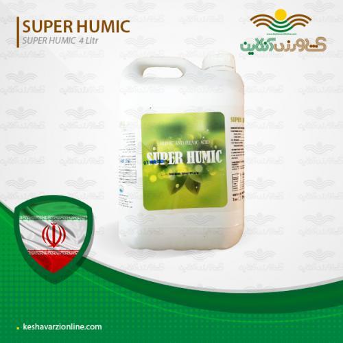 کود مایع سوپر هیومیک 5 لیتری