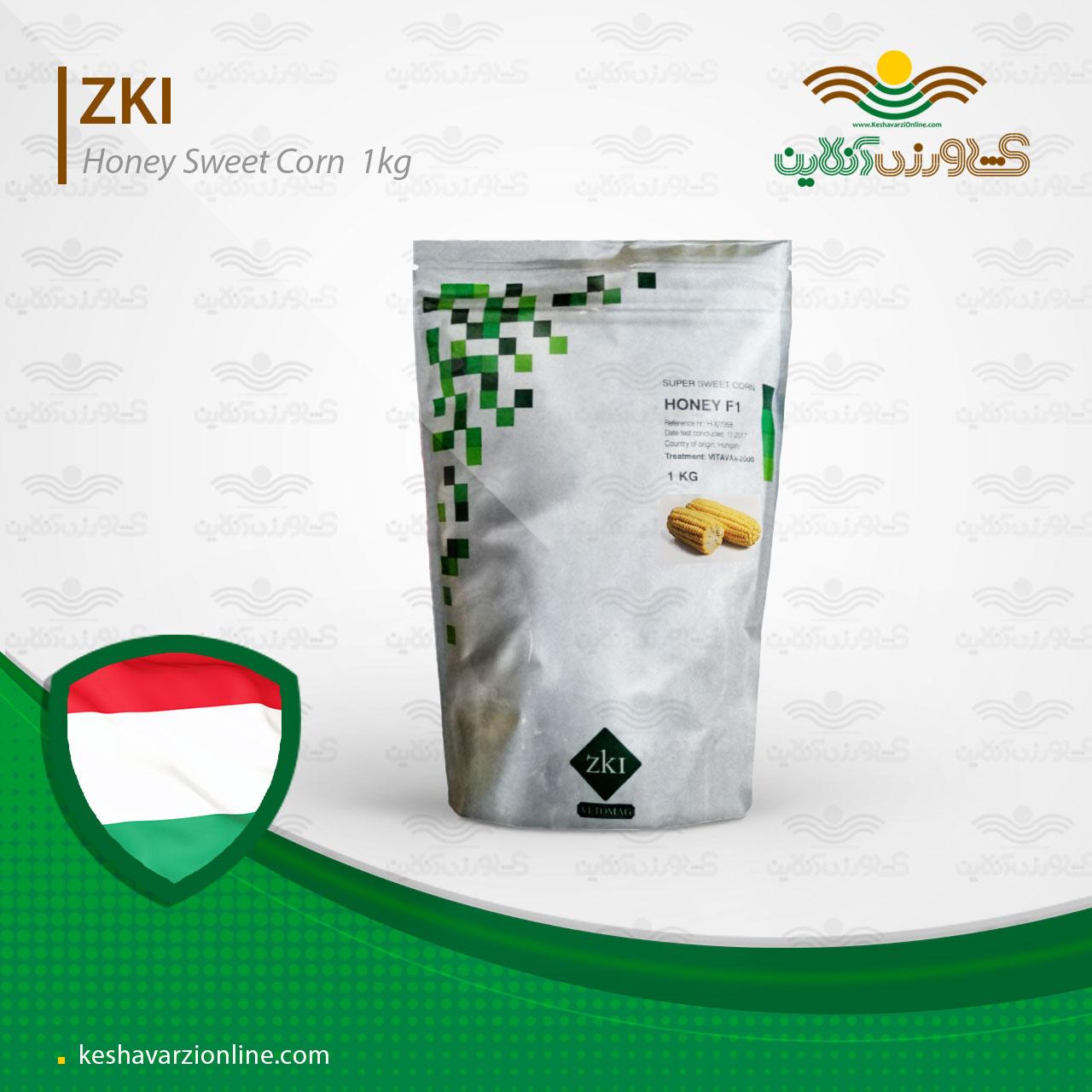 بذر ذرت شیرین هانی مجارستان ZKI