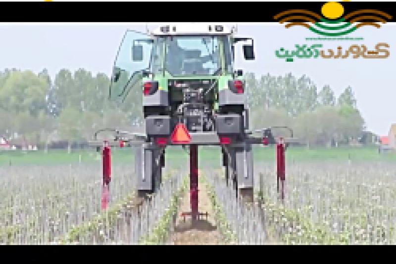 بهترین روش خاک ورزی در باغهای سیب